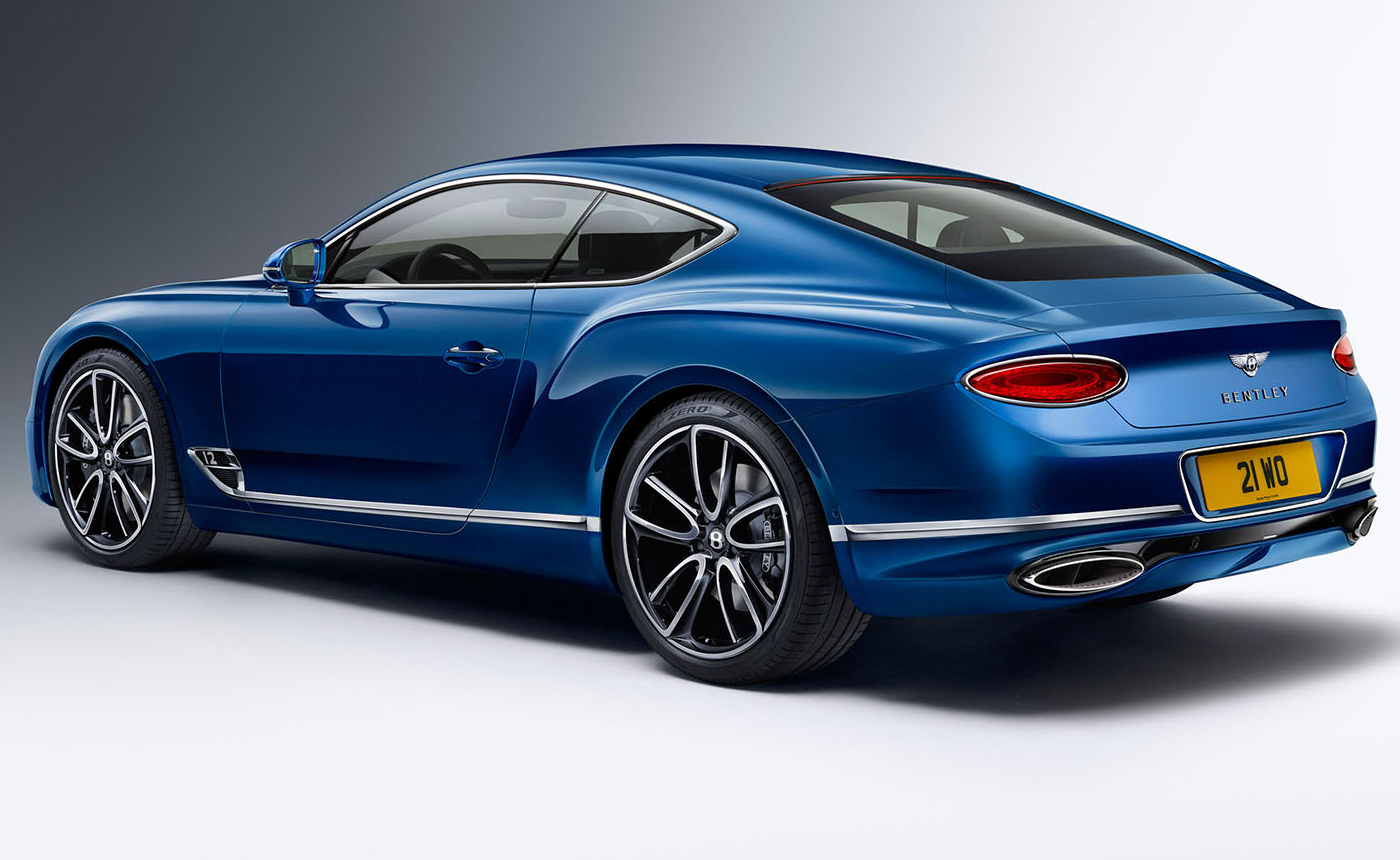 Bentley Continental GT, fastest production cars
