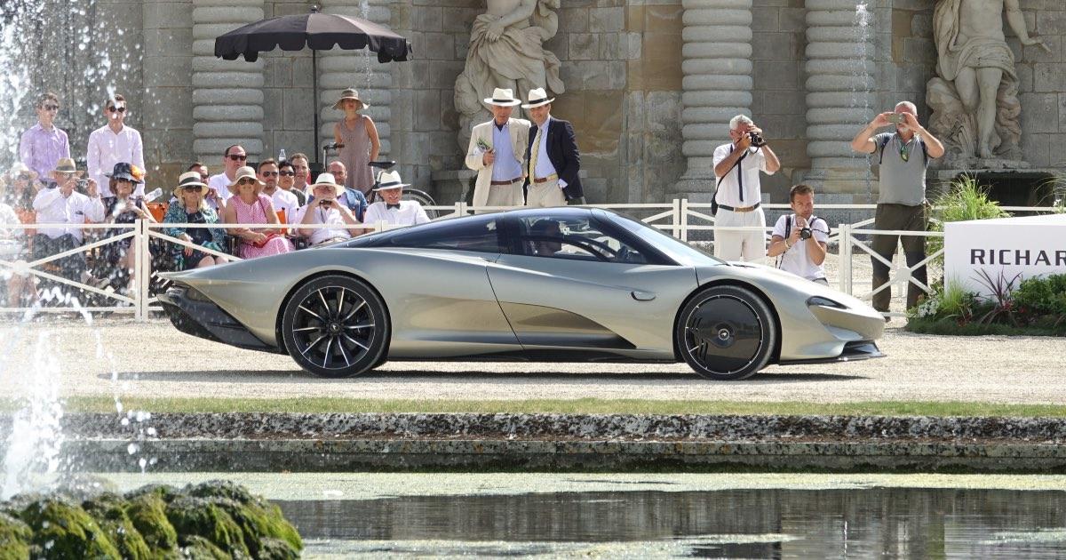 McLaren Speedtail, fastest production cars