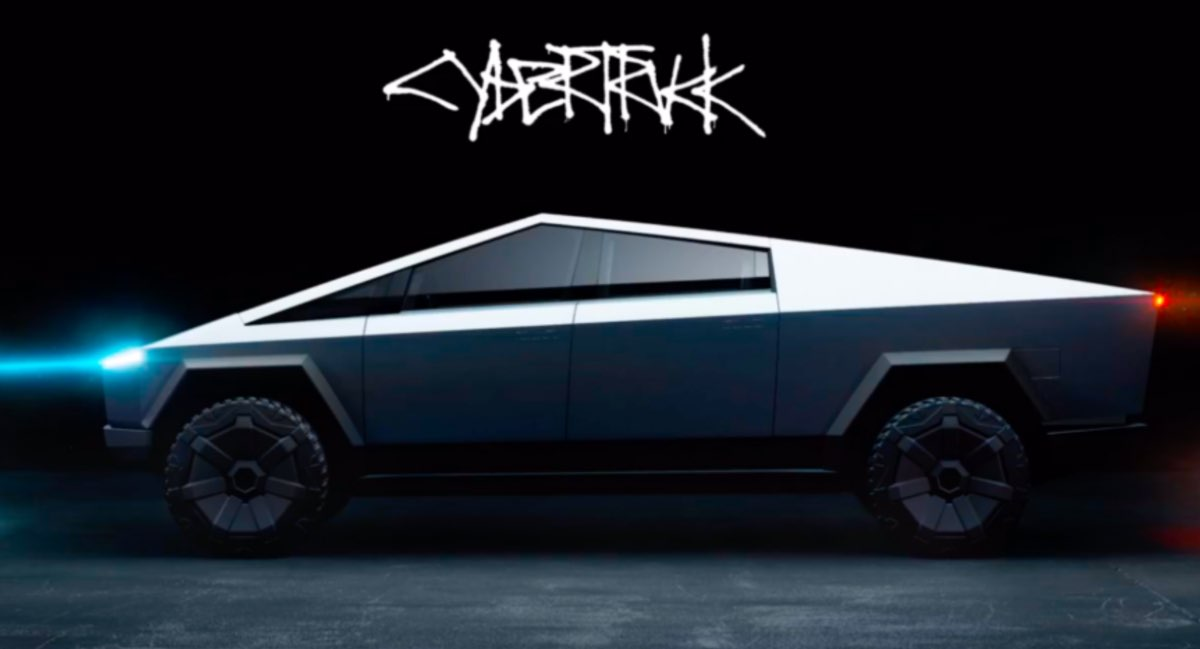Tesla Cybertruck, cyberpunk