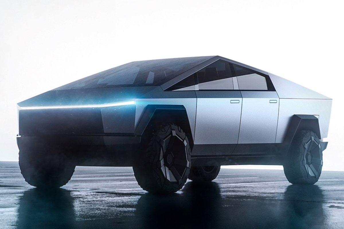 Tesla Cybertruck, rolled steel