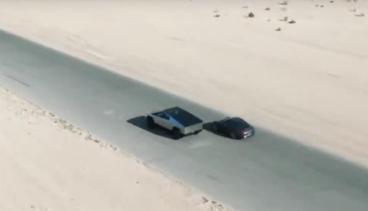 Tesla Cybertruck vs Porsche