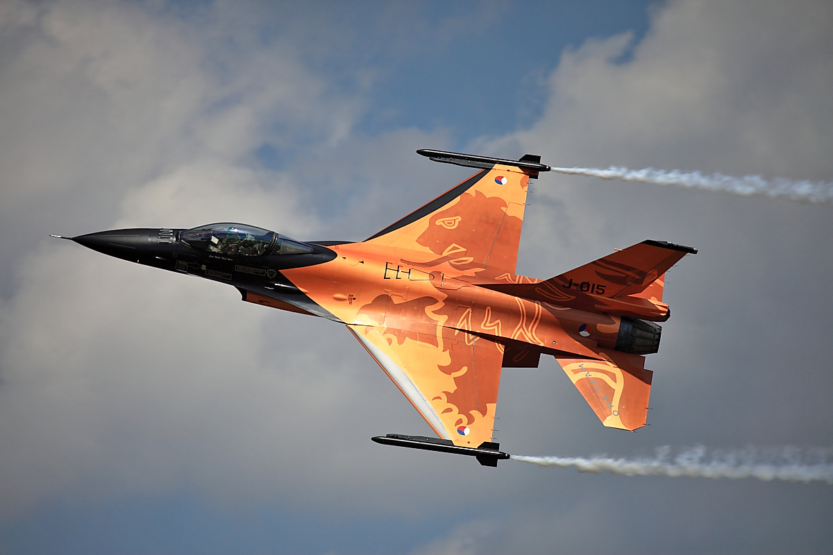 Royal Netherlands F-16 Fighter Jet