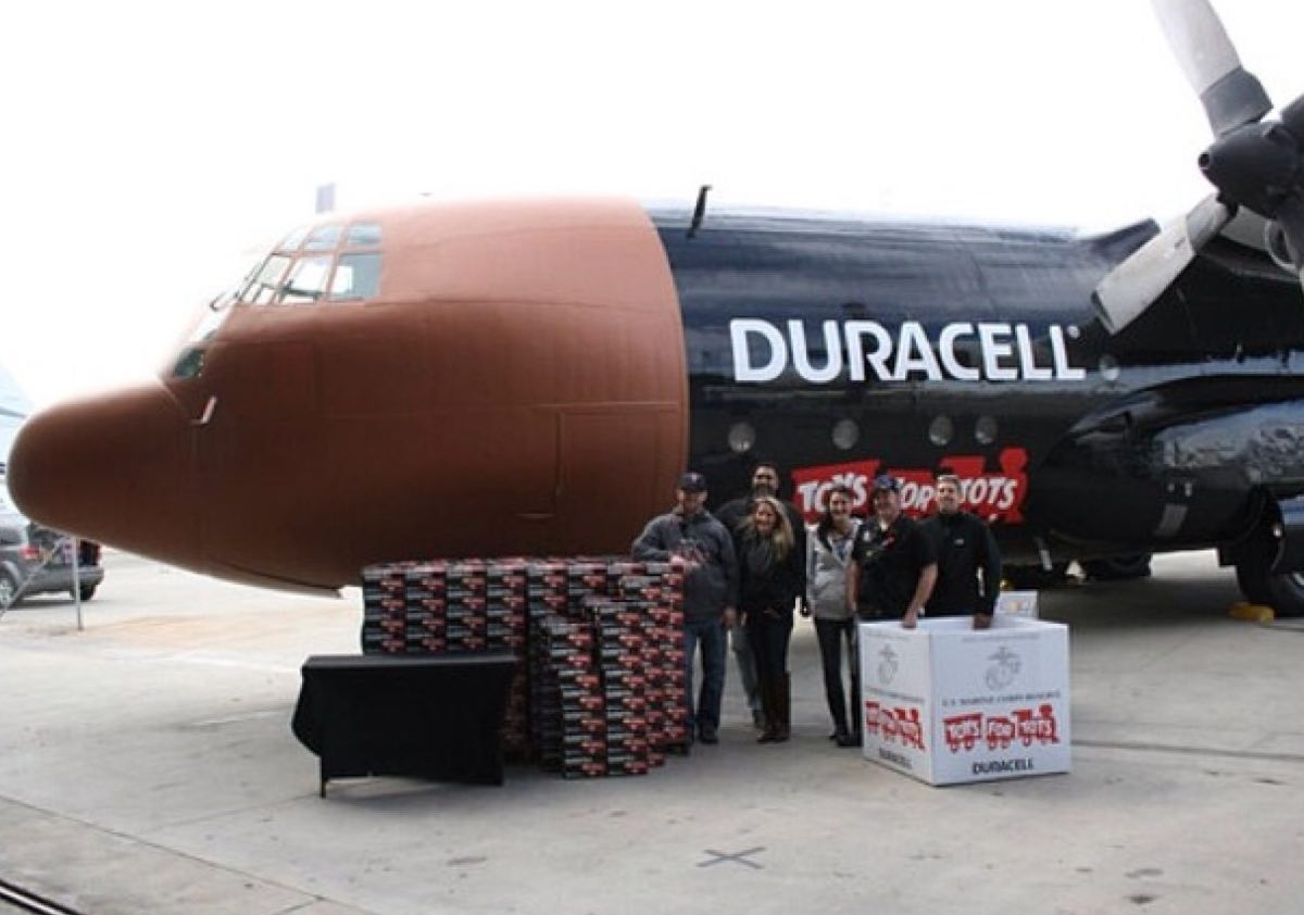 Duracell AA Batteries Powered This Aircraft