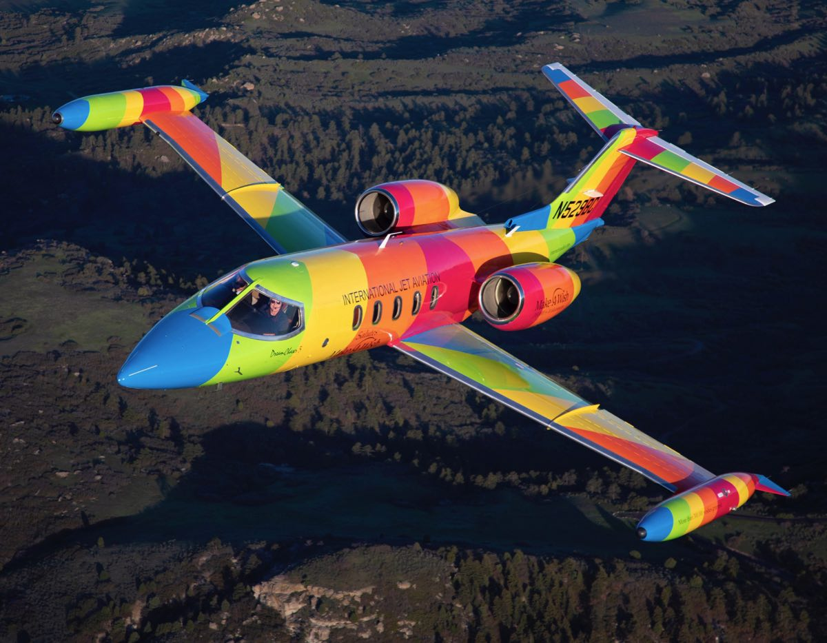 Make-A-Wish Rainbow Jet