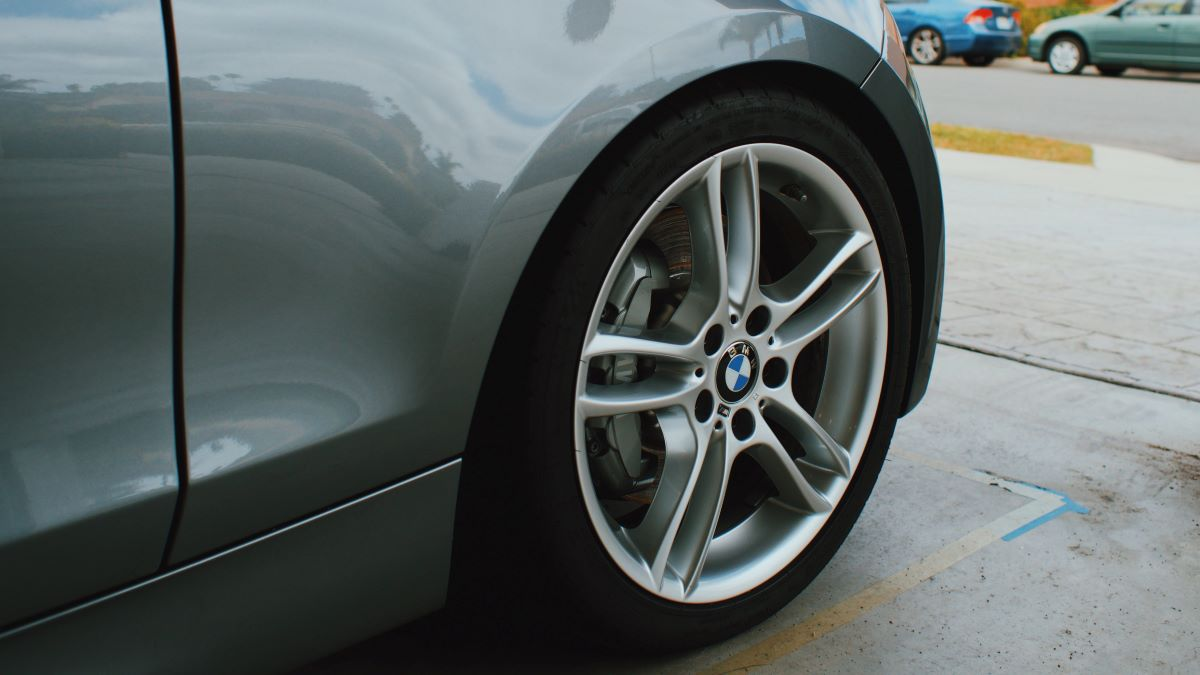 The brake pads can be withdrawn further into the wheel to protect them from moisture