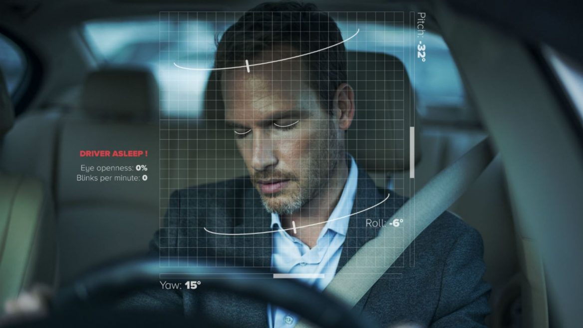 By scanning your face, the car detects signs of drowsiness