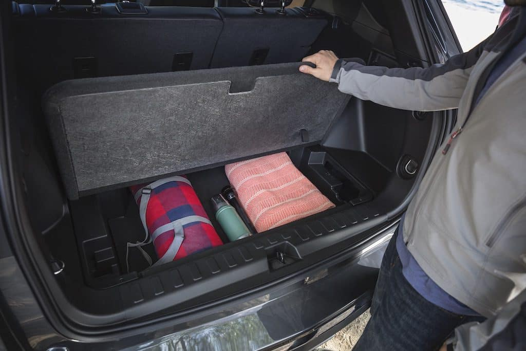 You might be surprised at how much storage your car actually has
