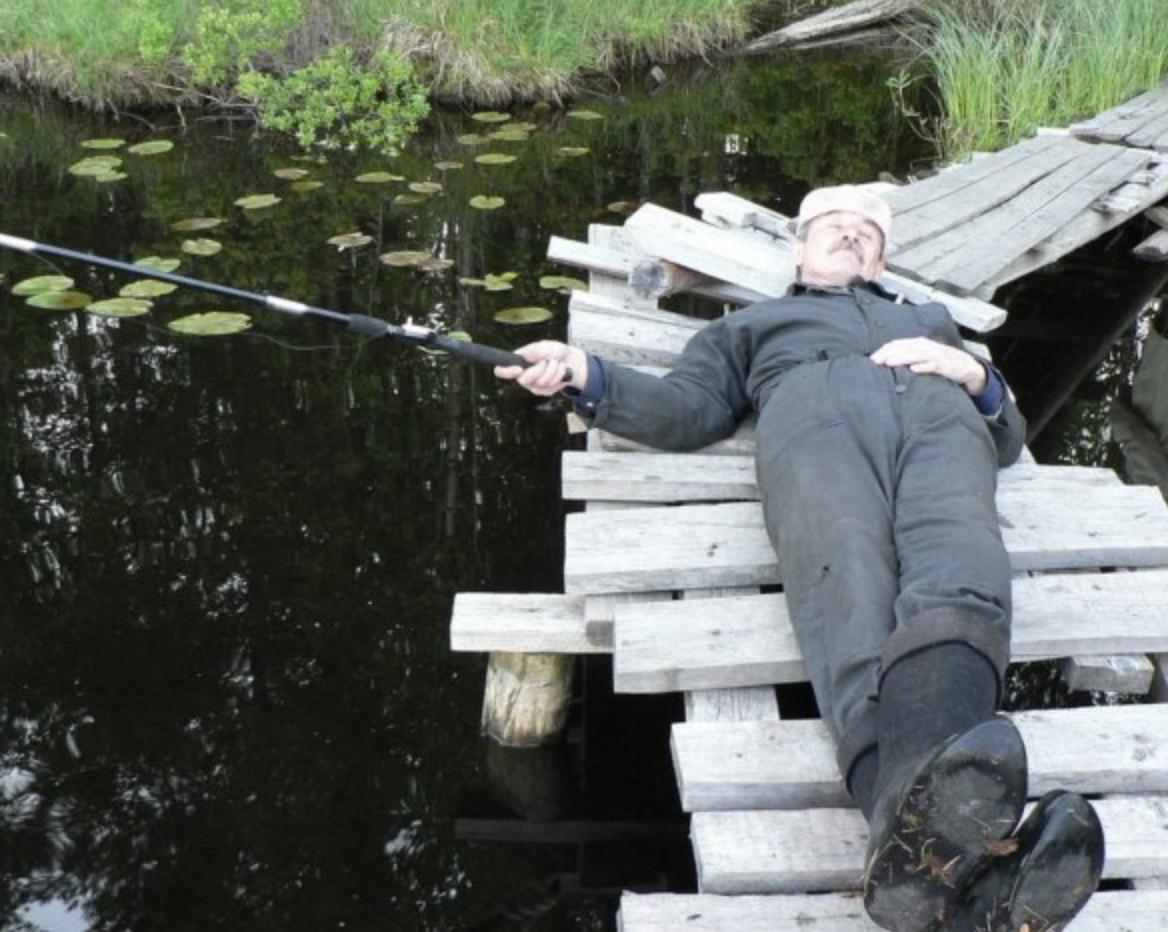 sleepy fishing